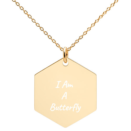 I Am A Butterfly Necklace