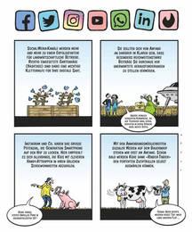 SchlussStrich Cartoonseite