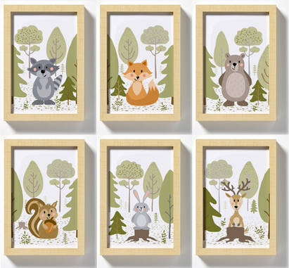 Woodland Friends Characters