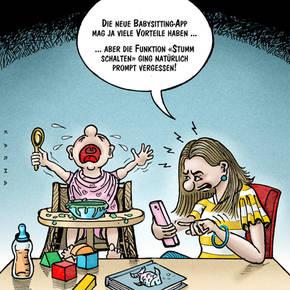 Die neue Babysitter-App