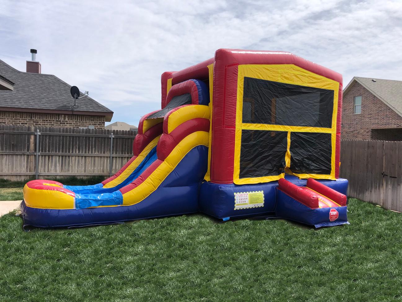 Bounce House Combo Slide