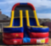 water slide bounce house bouncy house