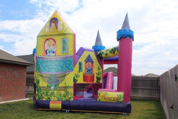 Mega Princess Bounce House