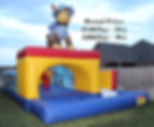 paw patrol bounce house bouncy houe water slide