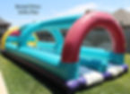 slip n slide bounce house bouncy house