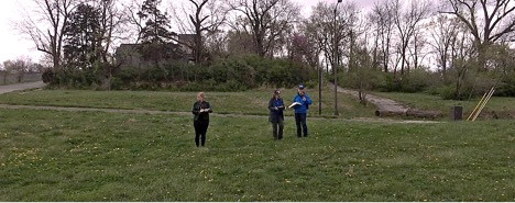 HCA Partners visited vacant lots in Kansas City in April 2016 to determine conservation opportunities.