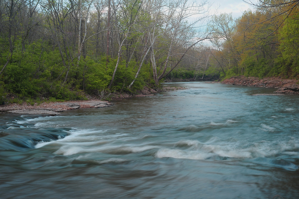 The Blue River. Photo by Pat Whalen