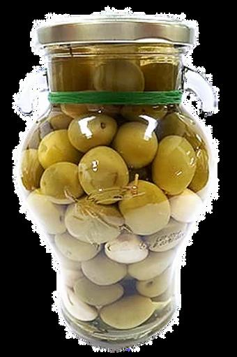 Whole Manzanilla Olives w/ Garlic & Rosemary