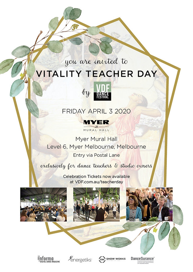 Vitality Teacher Day 2020 dance studio o
