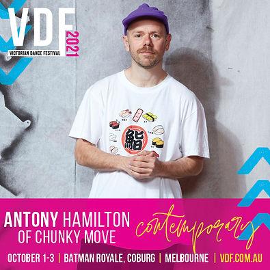 Antony Hamilton Victorian Dance Festival