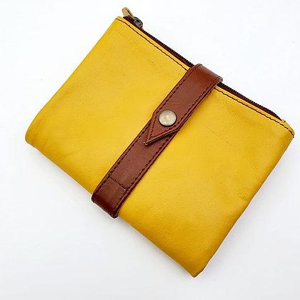 Portefeuille Souple Flex Moutarde (cuir couleurs multiples)