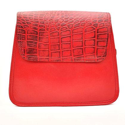 Solange Rouge Rabat Rouge Croco