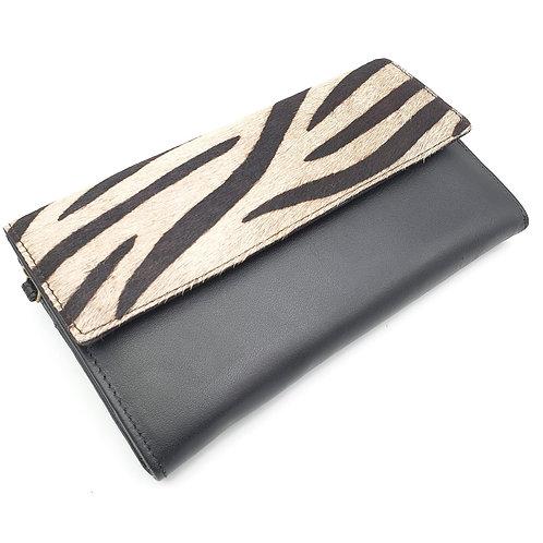 Compagnon Noir Zèbre (cuir couleur intérieur noir)