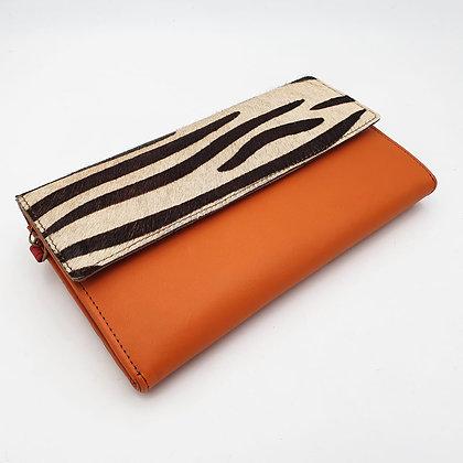 Compagnon Orange Zébré (cuir couleurs intérieur multiples)