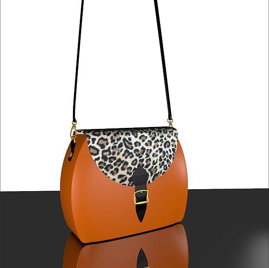 Litchi Orange Léopard