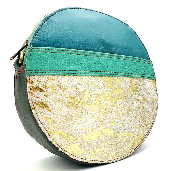 Pleine Lune Turquoise Doré