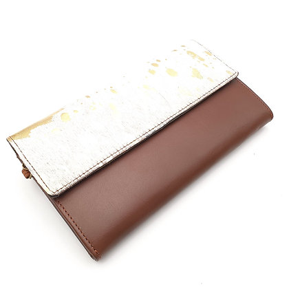 Compagnon Choco Doré (cuir couleurs intérieur multiples)