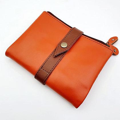 Portefeuille Souple Flex Orange (cuir couleurs multiples)