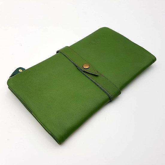Portefeuille Souple Vert (cuir couleurs multiples)
