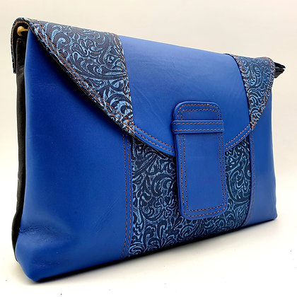 Elegance Bleu Arabesque