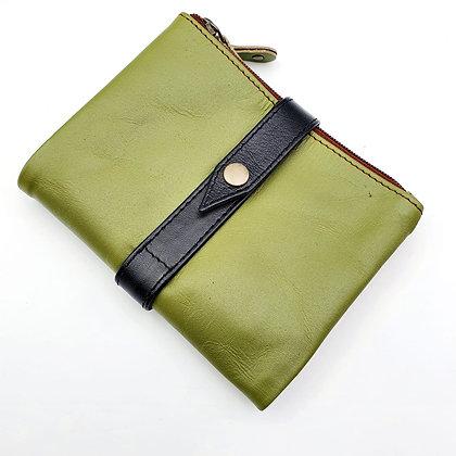 Portefeuille Souple Flex Vert (cuir couleurs multiples)