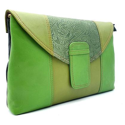 Elegance Vert Mousse Arabesque