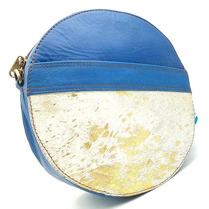 Pleine Lune Bleu Doré