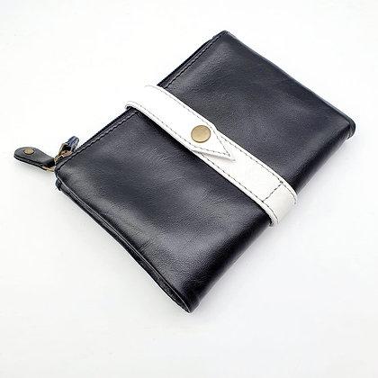 Portefeuille Souple Flex Noir (cuir couleurs multiples)