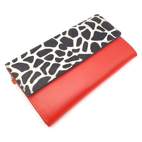 Compagnon Rouge Girafe (cuir couleurs intérieur multiples))