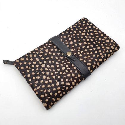 Portefeuille Souple Galets (cuir intérieur couleurs multiples)
