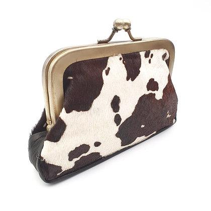 Porte Monnaie Clip taille M Vache