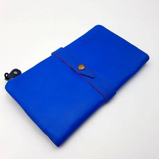 Portefeuille Souple Bleu Jeans (cuir couleurs multiples)