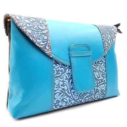 Elegance Turquoise Arabesque