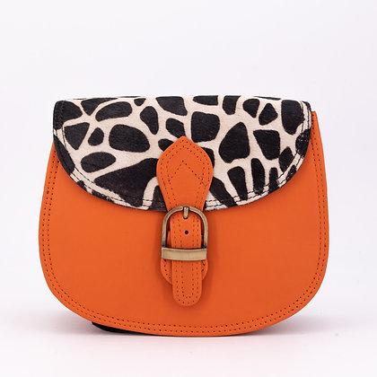 Petit Rond Orange Girafe