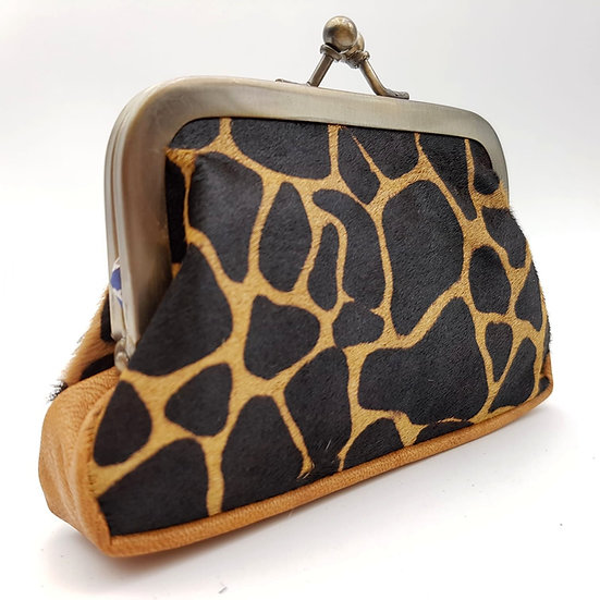 Porte Monnaie Clip taille M Girafe
