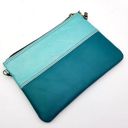 Pochette Chaînette Bleu Turquoise