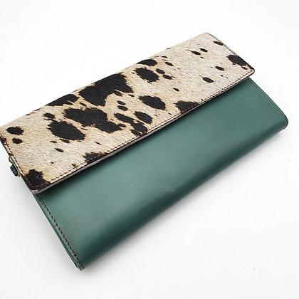 Compagnon Vert Vache (cuir couleurs intérieur multiples)