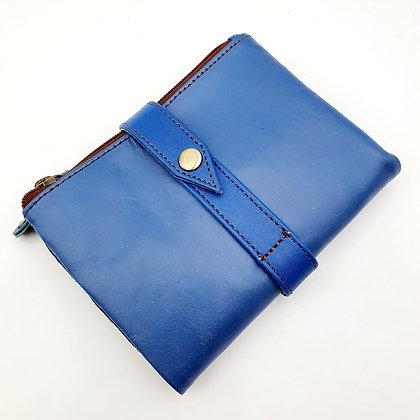 Portefeuille Souple Flex Bleu (cuir couleurs multiples)
