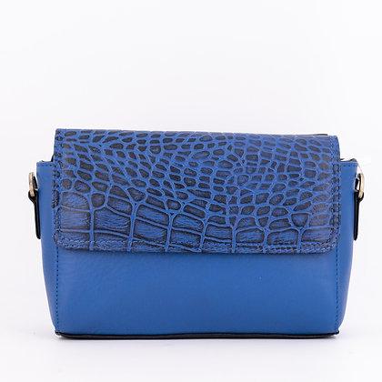 Plus Que Parfait Bleu Rabat Croco