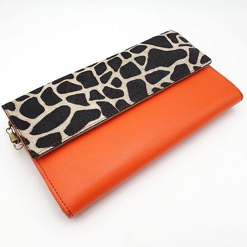 Compagnon Orange Girafe (cuir couleurs intérieur multiples)