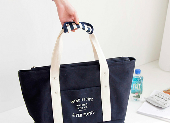 Retro Reusable Tote Bag