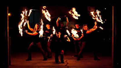 Insphyre Performance Group Fire Show