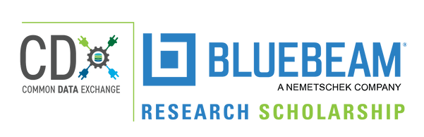 CDX Bluebeam Scholarship logo final-no y