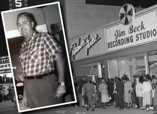 Jim Beck, sound man