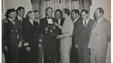 Eddy Arnold's gold record