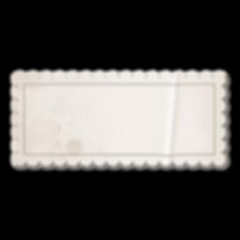 Uitstekende Lege Stamp