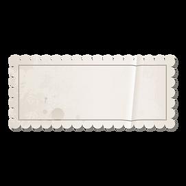 Vintage Blank Stamp