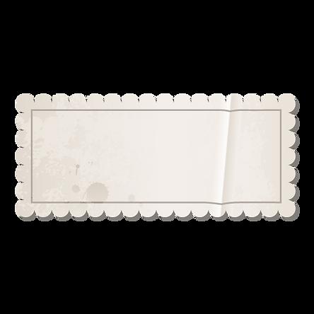 Selo em branco do vintage