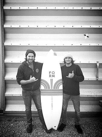 Dan Messore and Alan Stokes Form Surfboards ADPT surfboard