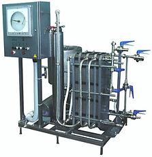 Комплект оборудования для пастеризации и охлаждения в потоке